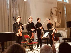 le Quatuor Van Kuijk le 18 septembre à l'Orangerie de Sceaux